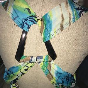 Printed Criss Cross Tunic